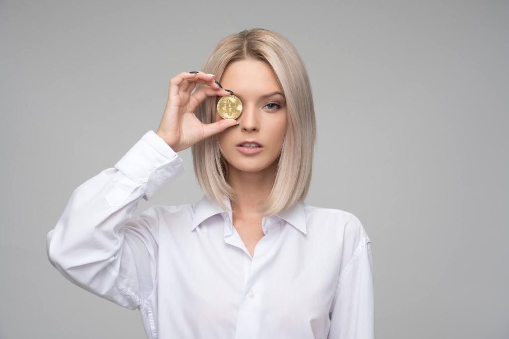 Lady Financial Analyst