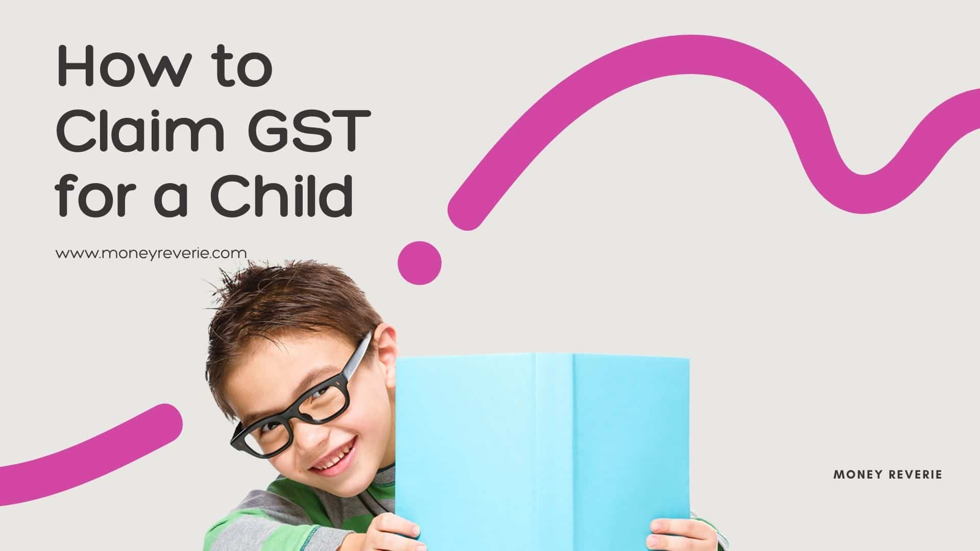 How to claim gst/hst tax credit for a child
