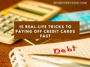 Tricks to paying off credit cards
