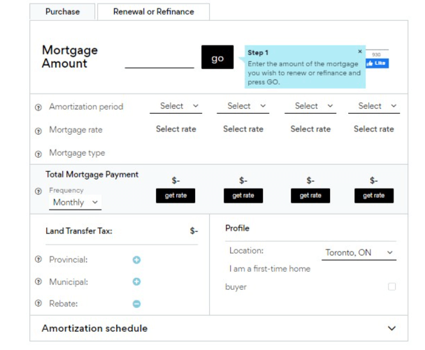 Rate Hub Mortgage Payment Calculator