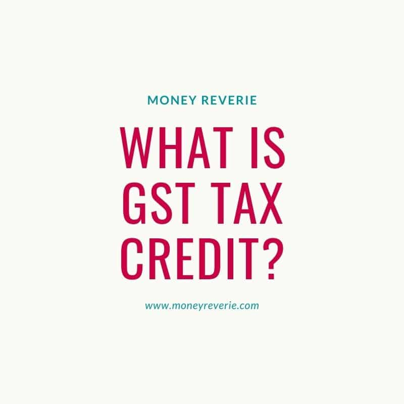 What is GST Tax Credit
