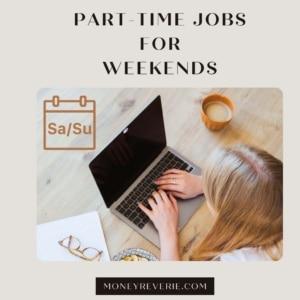 Weekend part time job